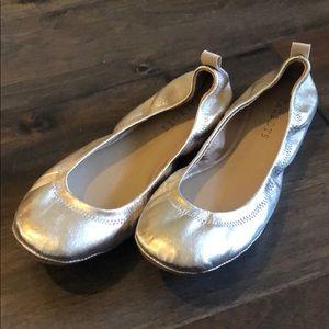 Gold Ballerina Flats